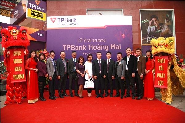 Khai trương Phòng giao dịch TPBank Hoàng Mai