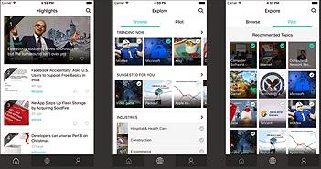 Dùng thử Microsoft News Pro trên iPhone: app tổng hợp tin tức xoay quanh nghề nghiệp cá nhân