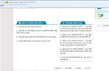 Cung cấp 3 dịch vụ công trực tuyến mức 3 trong lĩnh vực xuất bản, in và phát hành