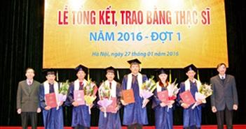 Học viện Công nghệ BCVT trao bằng cho 133 tân Thạc sĩ