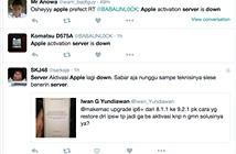 Server Apple bị lỗi, không kích hoạt được iPhone ở VN