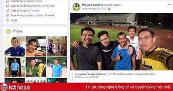 Facebook trọng tài trận Việt Nam - Nhật Bản sập sau khi bị làm loạn?