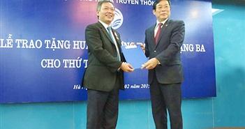 Thứ trưởng Bộ TT&TT Trần Đức Lai nghỉ hưu từ ngày 1/3/2015