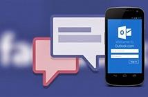 Microsoft loại bỏ tích hợp với Facebook và Google Chat trong Outlook