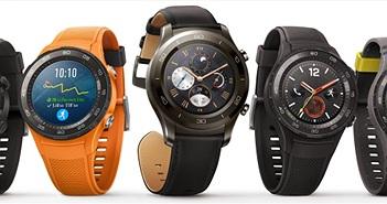 Huawei Watch 2 ra mắt với hai phiên bản, chống nước IP68