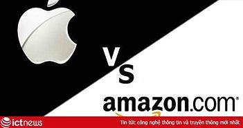 Vốn hóa thị trường đạt 1.000 tỷ USD trong 18 tháng, Amazon có thể đánh bại được Apple?