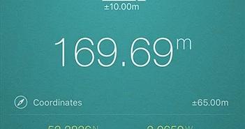 Cách đo tốc độ, khoảng cách, độ cao... bằng điện thoại