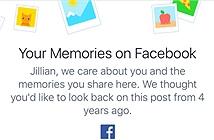 Facebook gợi nhớ bạn về ngày này năm xưa như thế nào?