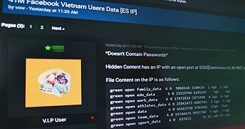 Hacker khoe dữ liệu của 41 triệu người dùng Facebook Việt Nam