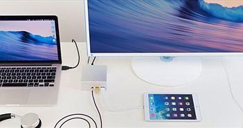 Aluminum Mini Docking Station: hub đa kết nối dành cho máy tính, thích hợp với Mac, giá 169 USD