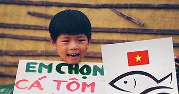 """Dân mạng đồng loạt """"chọn cá tôm"""" trong nghi án Formosa"""