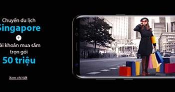 """Thoả sức vi vu """"Đảo quốc sư tử"""" khi sắm Samsung Galaxy S8/S8."""