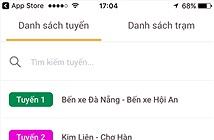 Đà Nẵng có phần mềm tìm xe buýt trên điện thoại