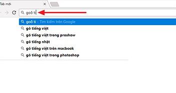 Hướng dẫn xử lý lỗi gõ tiếng Việt cực khó chịu trên thanh địa chỉ Google Chrome