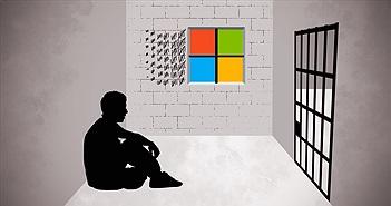 """Microsoft đã bỏ tù người """"làm giả"""" phần mềm mà hãng... tặng miễn phí như thế nào?"""