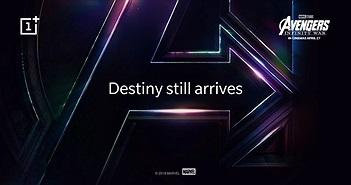 OnePlus 6 hé lộ phiên bản đặc biệt Avengers Limited Edition