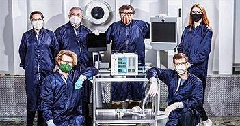 NASA chế tạo máy thở chỉ trong 37 ngày