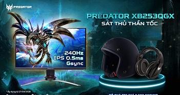 Predator XB253QGX – Màn hình gaming 240Hz được game thủ săn lùng nhất hiện nay
