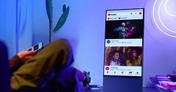 Samsung định hình phong cách sống thời thượng với TV The Frame, The Serif và The Sero