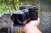 Trên tay Fujifilm X-T10: Gọn nhẹ, lấy nét nhanh, có đèn flash cóc