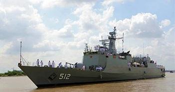 Tàu Hải quân Hoàng gia Thái Lan thăm TP Hồ Chí Minh