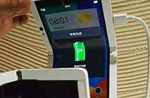 Đây là chiếc điện thoại màn hình gập của Oppo?