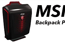 MSI ra mắt máy tính PC đeo như balo Backpack PC dùng để chơi game VR