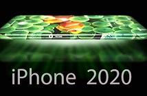 Hình dung về iPhone màn hình 360 độ năm 2020