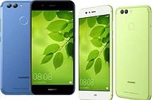 Huawei nhập cuộc camera selfie 20MP với Nova 2/ 2 plus