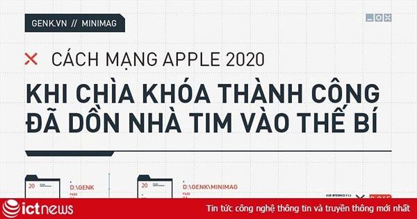 Cách mạng Apple 2020: Khi chìa khóa thành công đã dồn nhà Tim Cook vào thế bí