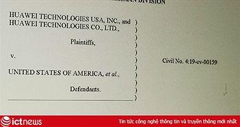 Ngày mai, Huawei bắt đầu phản công Mỹ