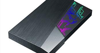 ASUS giới thiệu ổ cứng gắn ngoài FX HDD tích hợp đèn màu Aura Sync RGB