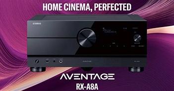 RX-A8A, RX-A6A, RX-A4A - Bộ 3 receiver 8K hoàn toàn mới của Yamaha, HDMI 2.1 không lỗi 4K/120Hz