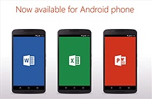 Microsoft ra mắt bộ Office miễn phí cho smartphone Android