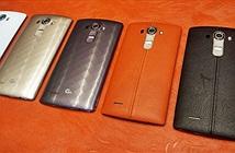 Smartphone LG G4 phiên bản da bò ra mắt tại VN