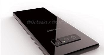 Samsung Galaxy Note 8 lộ diện qua video rò rỉ