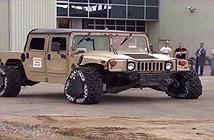 Quân đội Mỹ thiết kế bánh xe có thể chuyển từ hình tròn thành tam giác trong 2 giây