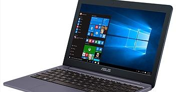 Laptop Asus VivoBook E12 lên kệ, giá từ 5,19 triệu đồng