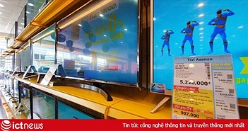 Điện máy Xanh cho đổi TV Asanzo lấy TV khác