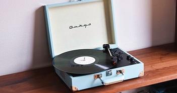 Onkyo OCP-1 - Đẹp ngỡ ngàng, mâm đĩa than có sẵn loa, ampli, nằm gọn trong vali di động