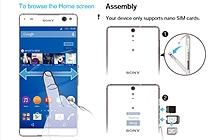 Rò rỉ sách hướng dẫn sử dụng Sony Xperia C5 Ultra: màn hình viền siêu mỏng, chip 8 nhân MediaTek