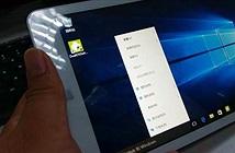 Cận cảnh mẫu máy tính bảng chạy Windows 10 sớm nhất