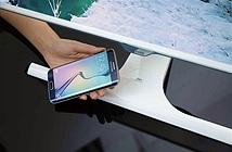 Samsung giới thiệu màn hình có thể sạc không dây cho smartphone