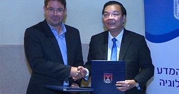 Việt Nam hợp tác toàn diện về Khoa học và Công nghệ với Israel