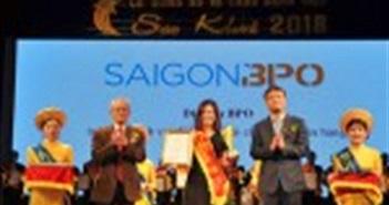 Sài Gòn BPO được vinh danh tại Sao Khuê 2018