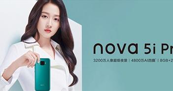 Huawei Nova 5i Pro chính thức: Kirin 810, 4 camera sau hình vuông, giá 319 USD