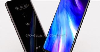 """LG V40 đẹp thế này thì iPhone X làm gì có """"cửa"""""""