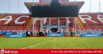 Hải Phòng, ĐH Cần Thơ phát trực tiếp trận đấu Olympic Việt Nam và Syria trên màn hình lớn