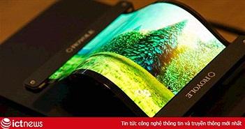 Loại màn hình điện thoại siêu dẻo, chỉ mỏng 0,01 mm đến gió cũng có thể thổi bay chuẩn bị được trình làng