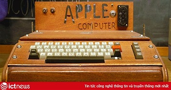 Phiên bản máy tính đầu tiên của Apple có giá ngang một siêu xe